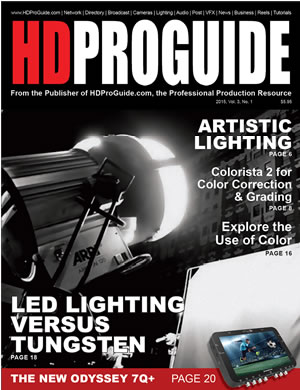 HD Pro Guide Magazine, 2015 Volume 3, Number 1