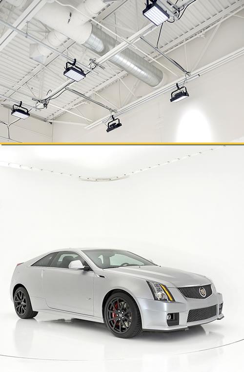 Cadillac Photos Pop with Twenty-One Litepanels Hilio LED Lights snapshot