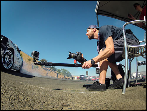 Travis Burke Pairs K-Tek Tadpole with GoPro to Capture Action snapshot