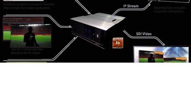 NAB2013: Vizrt brings an IP workflow, 4k rendering, and an