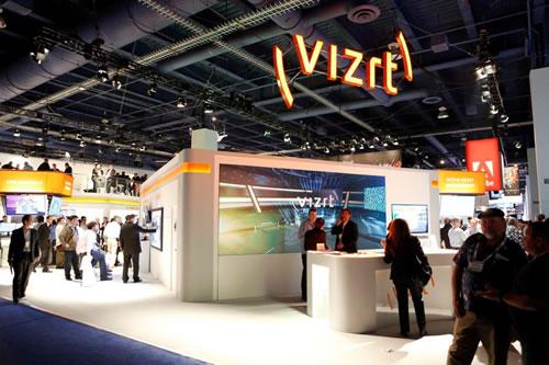 NAB 2013 Vizrt booth front-desk JPG snapshot