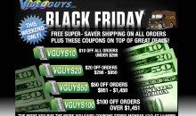 Black Friday Sales Start Now at Videoguys.com