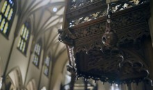 "Trinity Church Relies on Camera Corps ""Wooden"" Q-Ball to Capture Unique Angle Shots"