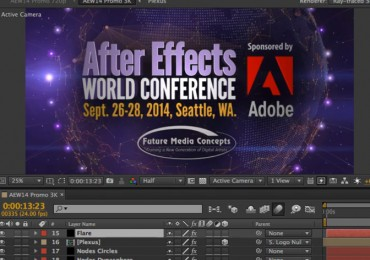 After Effects World Conference Promo