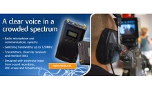 Audio Wireless Expands Product Range at IBC 2014