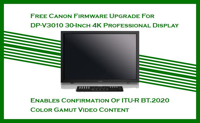 Canon Monitor