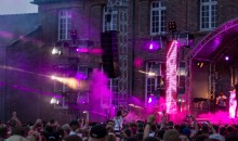Elation LED Panels and Platinum Beams for Electrisize Open Air Festival