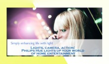 Philips lights up your world of home entertainment