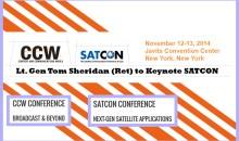 Lt. Gen Tom Sheridan (Ret) to Keynote SATCON