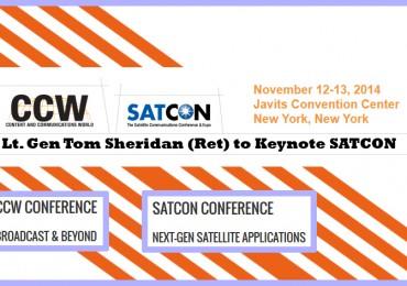 Tom Sheridan to Keynote SATCON