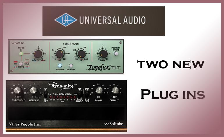Universal Audio Plug ins