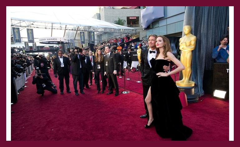 Red Carpet at Oscars