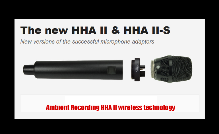 Ambient Recording HHA II
