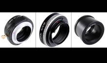 KIPON Lens Adapters Now Available in the U.S. Exclusively from Adorama: Leading camera and consumer electronics retailer Adorama is now the exclusive U.S. retail and wholesale outlet for more than 400 still and video camera adapters