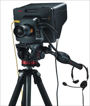 BlackmagicStudioCameraHDTripod