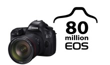 Canon Celebrates Production of 80 Millionth EOS-Series Interchangeable-Lens Camera
