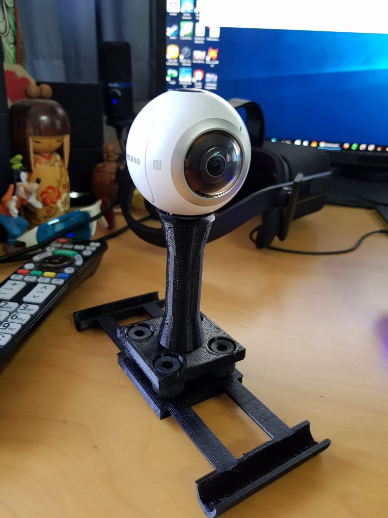 New 3D Printed 360 Camera Mount Can Get You Great 360 Aerial