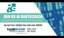 P+S TECHNIK at NAB 2018