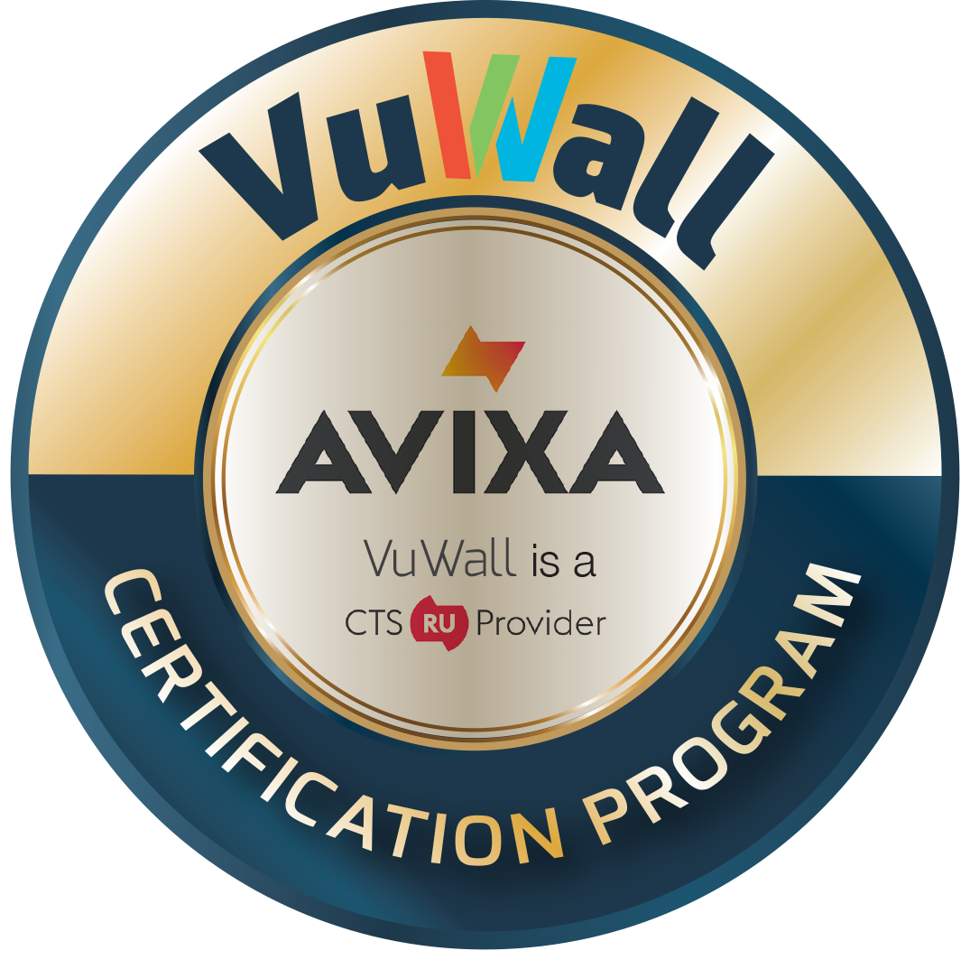vuwall certification cts program accredited training launches worship