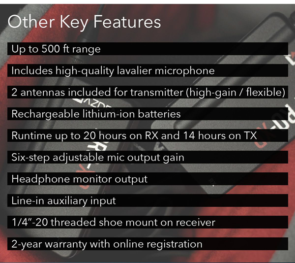 Other Key Features