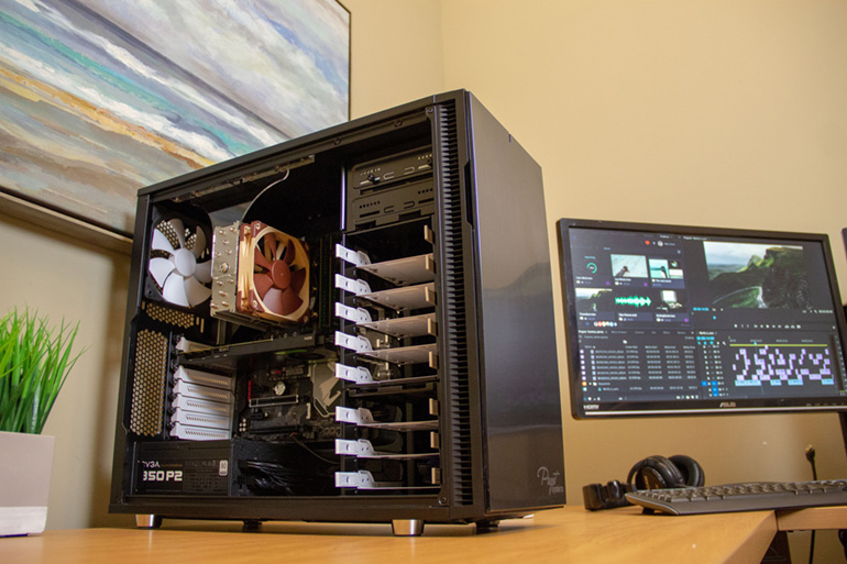 Puget Systems Custom Post Production Workstations